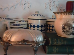 French-country-silver-plate-butter-enamelware-canister